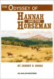 Cover of: The odyssey of Hannah and the horseman