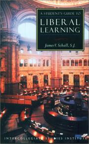 Cover of: A Student's Guide to Liberal Learning