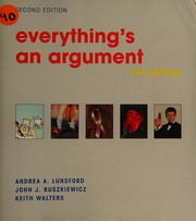Cover of: Everything's an argument