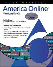 Cover of: Your official America Online membership kit