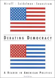 Cover of: Debating democracy