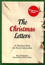 Cover of: The Christmas letters: A Timeless Story for Every Generation