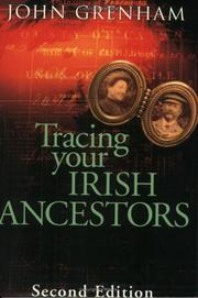 Cover of: Tracing your Irish ancestors