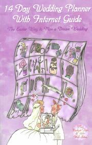 Cover of: 14-day wedding planner with Internet guide