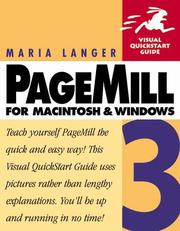 Cover of: PageMill 3 for Macintosh & Windows