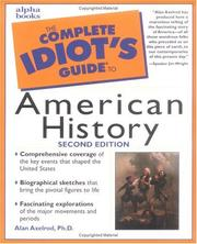 Cover of: The complete idiot's guide to American history