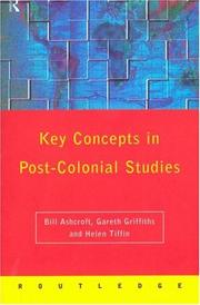 Cover of: Key concepts in post-colonial studies