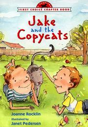 Cover of: Jake and the copycats