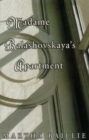 Cover of: Madame Balashovskaya's apartment: a novel