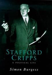 Cover of: Stafford Cripps