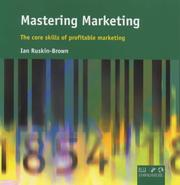 Cover of: Mastering marketing