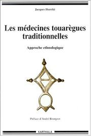 Cover of: Les médecines touarègues traditionnelles