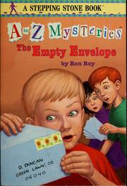 Cover of: The empty envelope