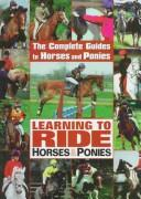 Cover of: Learning to ride horses and ponies