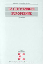 Cover of: La citoyenneté europeenne