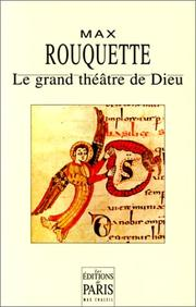 Cover of: Le grand théâtre de Dieu