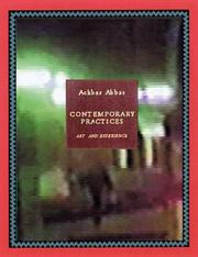 Cover of: Contemporary practices: art as experience