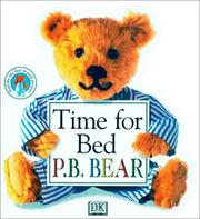 Cover of: Time for bed P.B. Bear