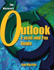 Cover of: The Microsoft Outlook e-mail and fax guide