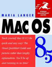 Cover of: Mac OS 8.5