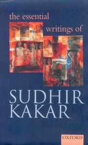 Cover of: The essential writings of Sudhir Kakar
