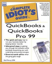 Cover of: The complete idiot's guide to Quickbooks and QuickBooks Pro 99