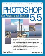 Cover of: Photoshop 5.5