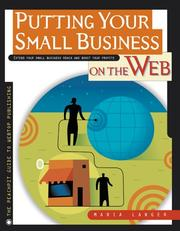 Cover of: Putting your small business on the Web