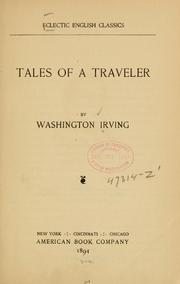 Cover of: Tales of a traveler: <selected>
