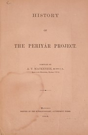 Cover of: History of the Periyár project