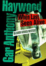 Cover of: When last seen alive