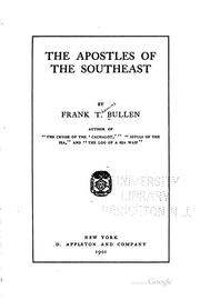 Cover of: The apostles of the Southeast