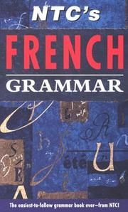 Cover of: NTC's French grammar