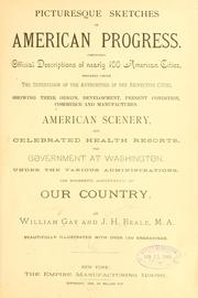 Cover of: Picturesque sketches of American progress