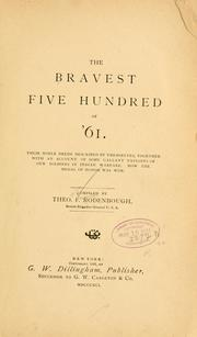 Cover of: The bravest five hundred of '61