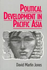 Cover of: Political development in Pacific Asia