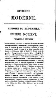 Cover of: Histoire universelle, ancienne et moderne