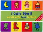 Cover of: I can spell--words with four letters