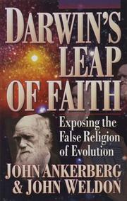 Cover of: Darwin's leap of faith