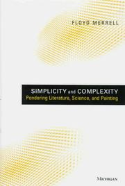 Cover of: Simplicity and complexity