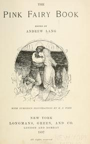 Cover of: The Pink Fairy Book