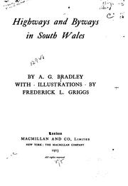 Cover of: Highways and byways in South Wales
