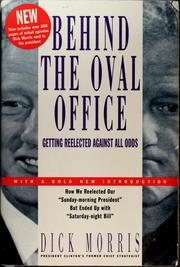 Cover of: Behind the Oval Office