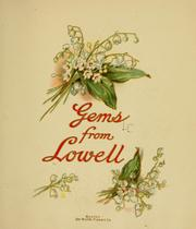 Cover of: Gems from Lowell
