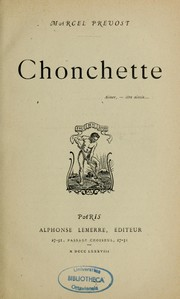 Cover of: Chonchette: illustrations de Grivaz.