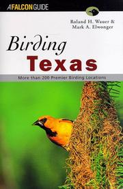 Cover of: Birding Texas