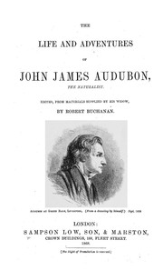 Cover of: The life and adventures of John James Audubon: the naturalist.