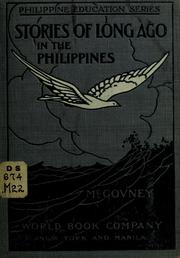 Cover of: Stories of long ago in the Philippines