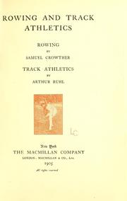 Cover of: Rowing and Track athletics
