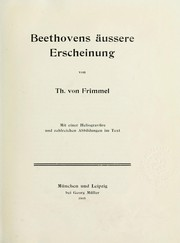 Cover of: Beethoven-Studien